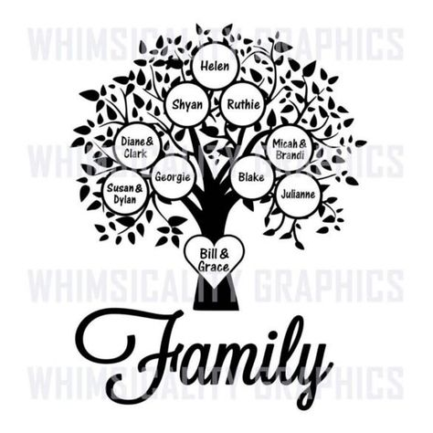Blank Family Tree Template - 32+ Free Word, PDF Documents Download | Free & Premium Templates