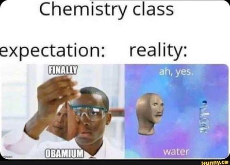 Picture memes — iFunny Memes Chemistry class expectation: reality: – popular memes on the All Meme, Crazy Funny Memes, Really Funny Memes, Stupid Memes, Funny Relatable Memes, Haha Funny, Dankest Memes, Funny Jokes, Funny Stuff