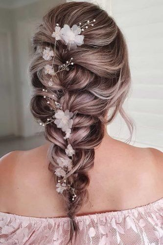 39 Perfect Wedding Hairstyles For Medium Hair Wedding Forward In 2020 Medium Hair Styles Braided Hairstyles For Wedding Wedding Hairstyles For Medium Hair