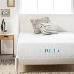 Lucid 12 Medium Gel Memory Foam Mattress Reviews Wayfair