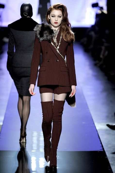 Jean Paul Gaultier Fall 2009 Couture - Runway Photos - Fashion Week - Runway, Fashion Shows and Collections - Vogue