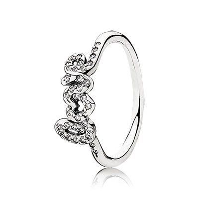 Buy Pandora Ring Signature of Love Outlet