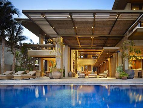 Decor Salteado Blog De Decoracao E Arquitetura Casa De Praia Moderna No Mexico Arquitetura House Design Architecture E House Styles