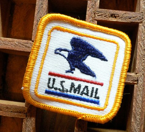 New Postal Patch Postal Stamps Postal Going Postal