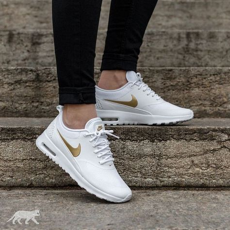 WMNS Nike Air Max Thea Black White Womens Running Shoes SNEAKERS NSW 599409 020 5