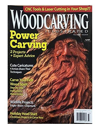 WOODCARVING ILLUSTRATED MAGAZINE, FALL 2013 ISSUE 64   Bins 2   Wood
