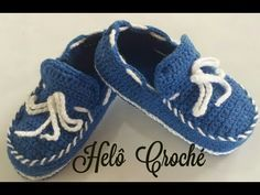 Tênis NIKE de Crochê Tamanho 11 cm Crochet Baby Yara Nascimento