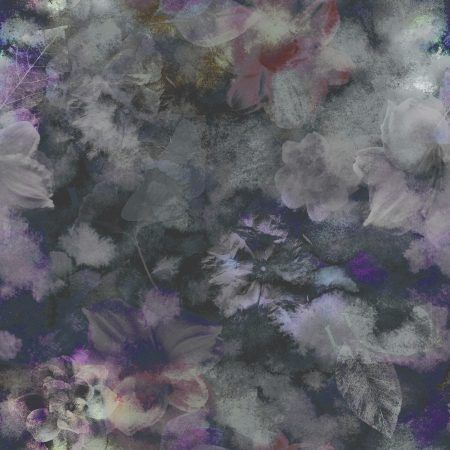 Gray Floral Peel And Stick Wallpaper A Smithhonig Exclusive Boho