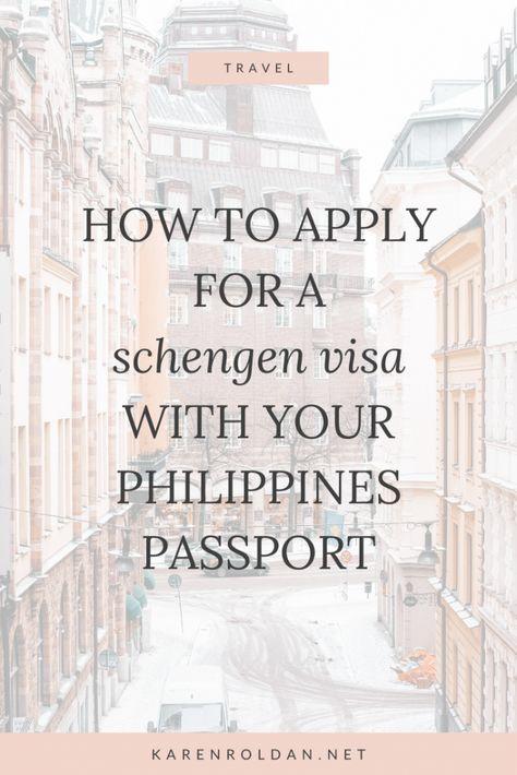 31f896fb5cb2b7324b52e97b25208a8c - How To Get Schengen Visa For Philippine Passport Holder