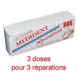 Kit De Reparation Dentier Sos Medident Avec Images Dentier