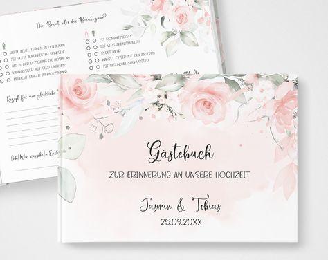 Pin On Hochzeit Gastebucher