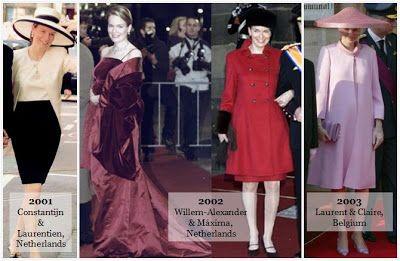 Mathilde at Royal Weddings