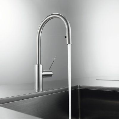 Kwc Ono Pull Down Single Handle Kitchen Faucet In 2020 Faucet
