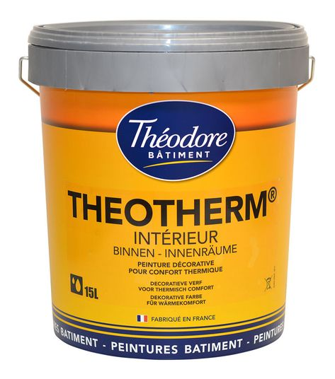Peinture Isolante Thermique Intérieure Finition Velours Pour