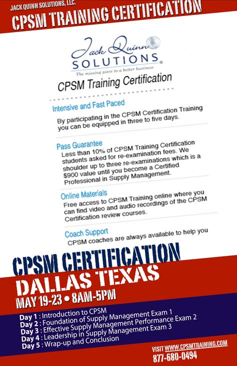 5 Steps To Forecasting Cpsm Certification Cpsm Certification