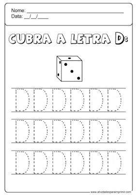 Alfabeto Pontilhado Atividades Para Imprimir Atividade