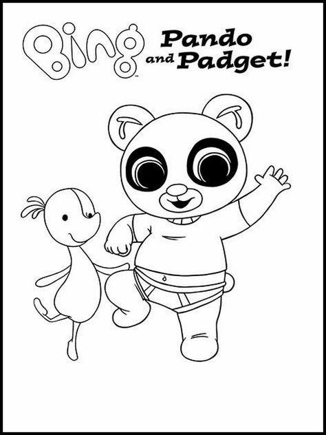 Disegni Di Bing Bunny 5 Disegni Da Colorare Disegno Per Bambini
