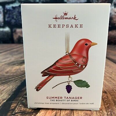 2013 Hallmark Keepsake Ornament Red-Headed Woodpecker Mini Beauty of the Birds