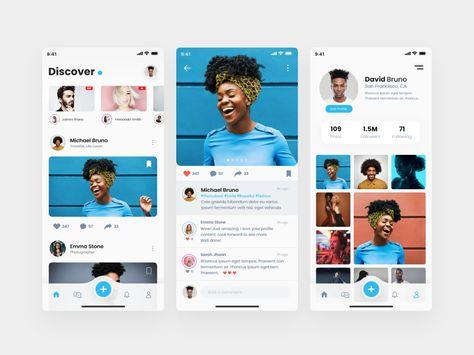 Social Media Ui Kit Demo