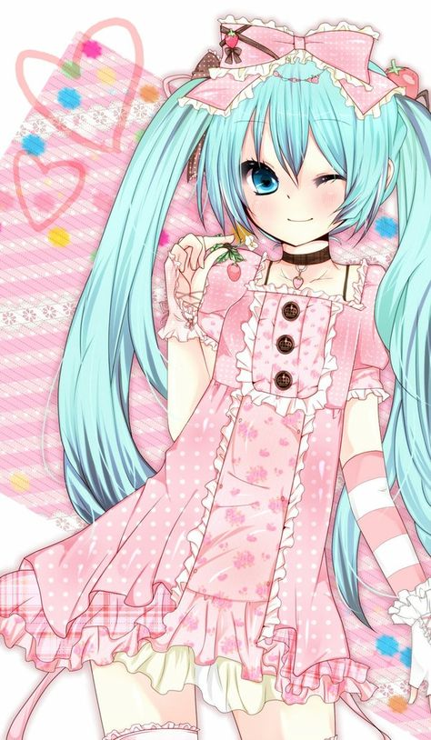 Cute Miku, Vocaloid
