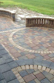 patio circular kit pavers circle paver