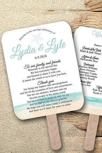 20 Diy Wedding Programs Templates Ideas And Tips Wedding Forward Diy Wedding Program Fans Wedding Program Template Free Wedding Programs