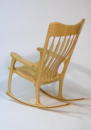 Scuplted Rocking Chair Chair Rocking Chair Comfortable Outdoor Chairs