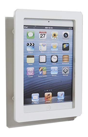 Ipad Mini 4 White Acrylic Security Anti Theft Enclosure With Wall Mount Kit Review Ipad Mini Ipad Tablet