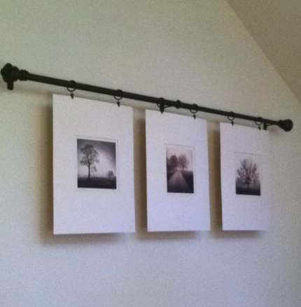 wall hooks curtain rods