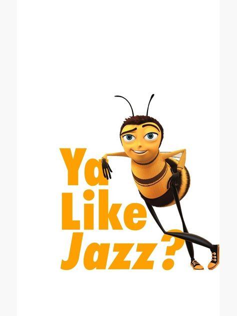'Ya Like Jazz?' Sticker by TMurphyTime