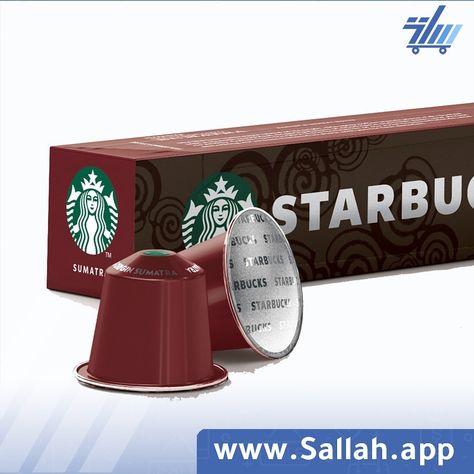 كبسولات ستاربكس سومطره متوافقة مع نسبريسو Starbucks By Nespresso Sumatra Dark Roast الحدة 10 من 12 درجة التحميص غامق درجة الطحن وسط نوع القه Social Media