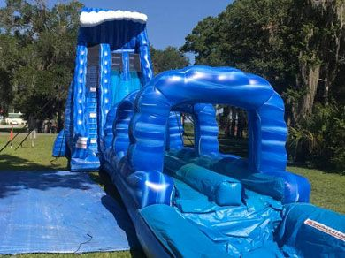Pin By Bounce It Out Events On Https Bounceitoutparty Com Water Slide Rentals Water Slides Bounce House