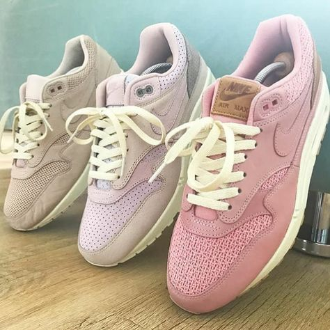 Shades of pink! The Nike Air Max 1 celebrated a great