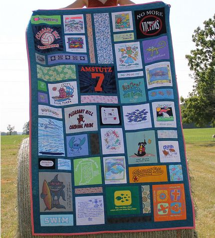 T-shirt Quilting: Preserving Memories. Learn It. Make It. On ... : t shirts quilts - Adamdwight.com