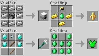 10 CRAFTING RECIPES You Didn't Know About in Minecraft! | Minecraft