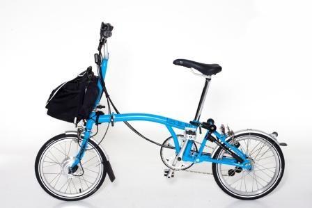 Electric Brompton Brompton Electric Bike Conversion Bike