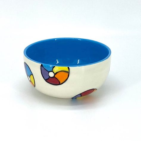 Create your own bowl custom personalized ceramic painted-listing is for One bowl