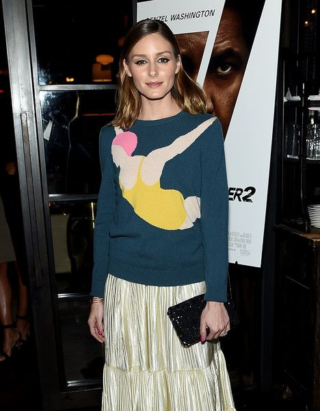 Olivia Palermo attends 'The Equalizer 2' New York Screening.