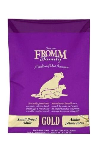 Fromm Gold Adult Small Breed 15lb Dry Dog Food Dog Food Recipes