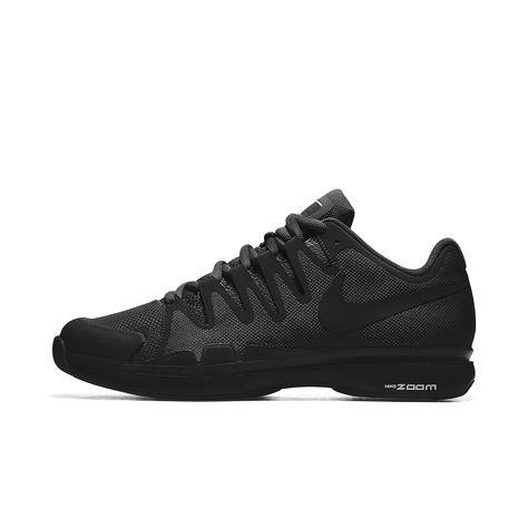 aba398a0746a Nike NikeCourt Zoom Vapor 9.5 Tour iD Women s Tennis Shoe Size 10.5 (Black)