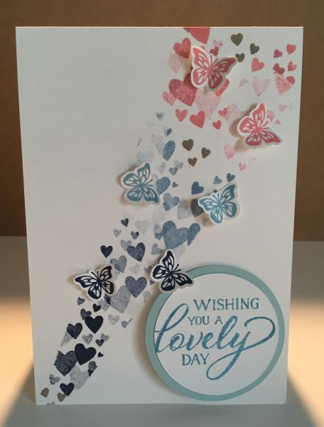 Stampin Up Butterfly Card Butterfly Cards Handmade Butterfly Birthday Cards Butterfly Cards