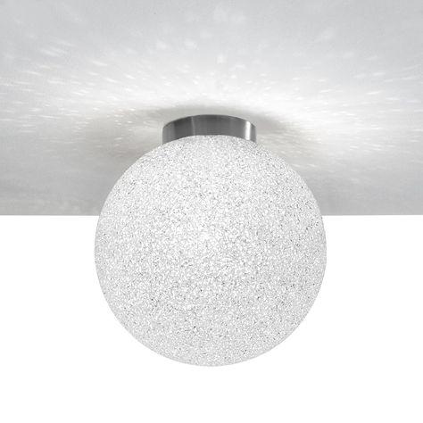 Iceglobe Kugel Deckenlampe Kugelleuchte Aus Polycarbonat Mit