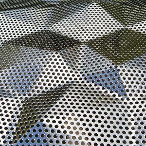 Perforated Metal Sheet Stainless Steel Aluminum For Interior Stainless Steel Sheet Perforated Metal Panel Steel Sheet