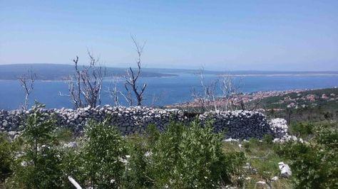 Blick auf Crikvenica und die Kvarner Bucht
