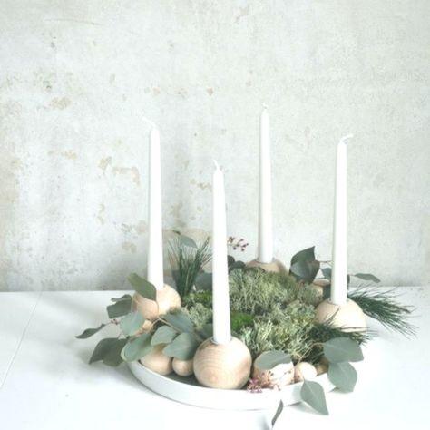 #adventskranz #eukalyptus #weihnachten #scandistyle