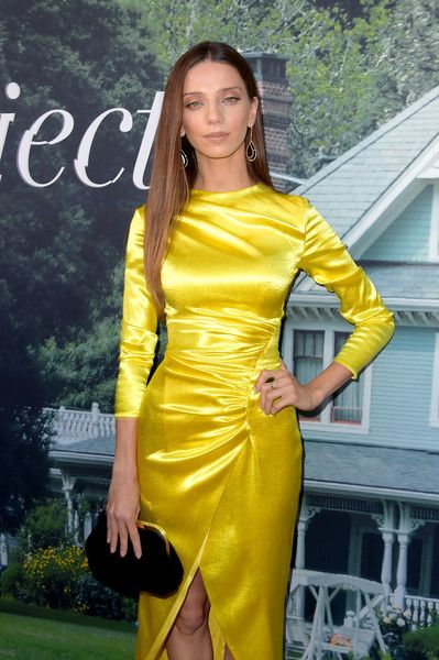 Angela Sarafyan attends the premiere of HBO's 'Sharp Objects' at The Cinerama Dome.