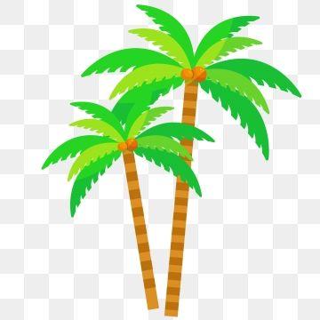 2020 的 Fresh Coconut Tree Vector Coconut Clipart Tree Clipart