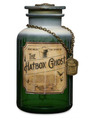 Disney Haunted Mansion Host A Ghost Spirit Jar Hat Box Ghost ~ Halloween Party