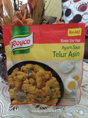 Review Bumbu Royco Ayam Saus Telur Asin Telur Makanan Makanan Enak