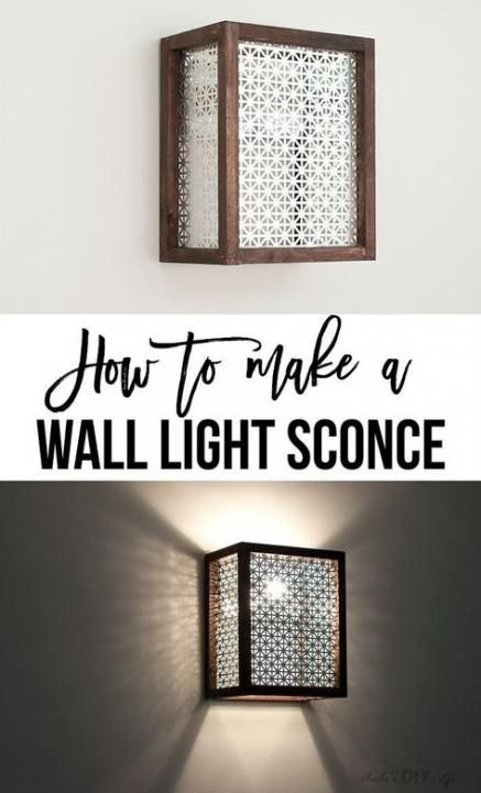 47 Ideas Bath Room Diy Wall Light Fixtures Diy Bath Diy